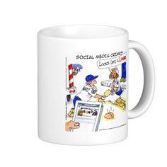 #LMAO #Crime #Humor #Mug by @LTCartoons @zazzle #zazzle #gift #sale #coffee @pinterest #socialmedia #twitter #facebook