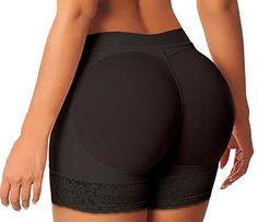 Fashion Plus Size Butt Lifter Boy Shorts Enhancer Underwear Shaper Panties www.fashionbug.us #PlusSize #FashionBug #Intimates #Panties