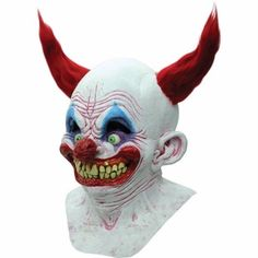 Scary Halloween Clown Mask The Latex Adult Mask Full Clown Halloween Mask New    #Generic