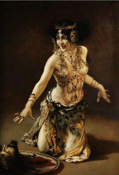 'Salome' by Leopold Schmutzler.