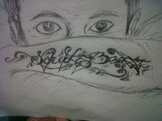 Sketching tattoo