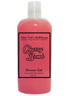 A not so sweet , but strong cherry scent shower gel & body wash. Ingredients: Water, Sodium Laureth Sulfate, Cocamidopropyl Betaine, Cocamide DEA, Sodium Chloride, Glycerin, Citric Acid, Kathon CG, Te