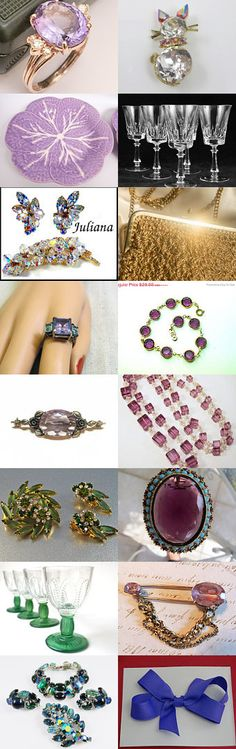 Blitz Sparkle - Vintage Vogueteam Treasury by Cleaver White on Etsy--Pinned with TreasuryPin.com