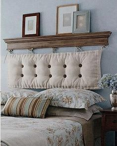 Let your #headboard take center stage and draw eyes to the bed with its #uniqueness  #themeoftheweek #ESTipOfTheDay #EsHappyList #uniquedecor #uniqueheadboard