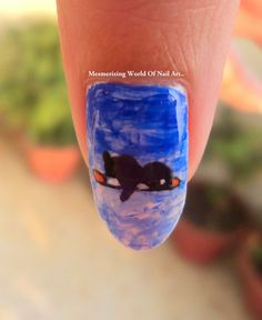 Mesmerizing World Of Nail Art..: Penguin Nail Art