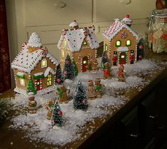 One sweet collection. Display this adorable 15-piece gingerbread village from Valerie Parr Hill to create lasting holiday memories. QVC.com