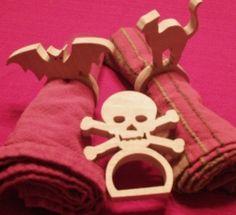 Halloween Napkin Rings Scroll Saw FREE Pattern