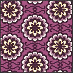 Fancy Buttons in Purple, Patricia Bravo, part of the Bespoken collection