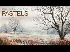 Learn how to draw or paint a winter landscape with pastels and pastel pencils in this lesson. Although most of the landscape is white, the complementary colo...