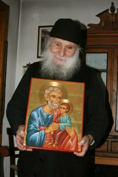 Elder Joseph of Vatopaidi Practical repentance and its fruits Saint Barbara, Pray Always, Byzantine Icons, Orthodox Christianity, Orthodox Icons, Roman Catholic, Christian Faith, Priest, Religion