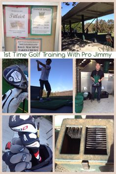 1st time in a private golf workshop!
