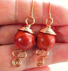 Wire Wred Earrings
