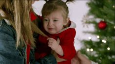 """""""NOOOOO, MOM. WHYYYYYYY?!""""   Watch Kids Cry In Slow Motion With Santa And Try Not To Laugh"""