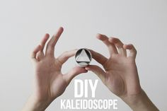 Know and Tell Crafts: DIY Kaleidoscope..