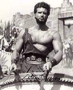 """Montana-born bodybuilder Steve Reeves flexed his way into movie stardom in the Italian-import """"Hercules,"""" which opened in the U. on this date in Who is your favorite actor who played Hercules? Photo from the L. Full Body Workouts, Best Full Body Workout, Quick Workouts, Body Exercises, Hollywood Stars, Classic Hollywood, Vintage Hollywood, Bodybuilder, Nacional Kid"""