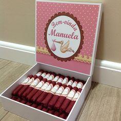 Charutos de Chocolate Recheados   Mimos & Caprichos   Elo7