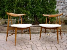 STUNNING mid century Modern Hans WEGNER style LOUNGE by CIRCA60, $395.00 Side Chairs, Dining Chairs, Style Lounge, Hans Wegner, Eames, Home Goods, Midcentury Modern, Upholstery, Mid Century