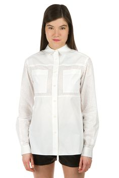 Proenza Perforated Shirt