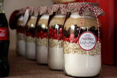 Cookie Mix in a Jar - love!