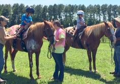 Equine-assisted therapy lessons at Trail of Faith Farms
