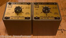Used Pair Hirata Tango transformer XE-60-2.5S for SE tube amp 300B, 2A3, PX25