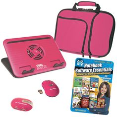 I'm learning all about Pc Treasures PC Treasures 10.1 Netbook Acces Kit / software pink at @Influenster!