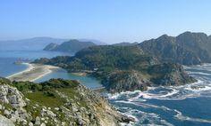 Galicia. Parque Nacional de las Islas Atlánticas de Galicia- Cíes.