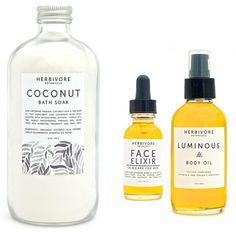 Product obsession: Herbivore Botanicals / simple pakaging