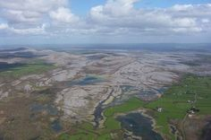 The Burren National Park.  A wonderful place to visit in Co. Clare