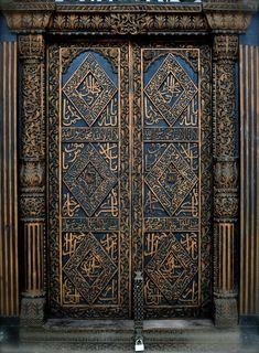 Doors of Stone Town, Zanzibar, Tanzania Cool Doors, The Doors, Unique Doors, Entrance Doors, Doorway, Windows And Doors, Grand Entrance, Knobs And Knockers, Door Knobs