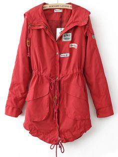 Found a red rain coat that I love and, wouldn't you know it, they ...