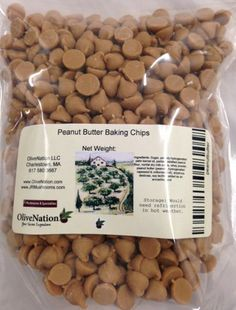 Peanut Butter Baking Chips 16 oz by OliveNation -- You can find out more details at the link of the image.