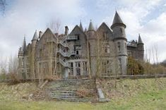 Chateau Miranda This castle in Belgium was used as an orphanage after WWII. The family abandoned the house in 1980 and it has not been cared for since.