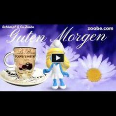 Guten Morgen - Kaffee ist fertig, wünsche dir einen schönen Tag