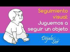Estimulación temprana de 6 a 8 meses Seguimiento visual con objeto - YouTube