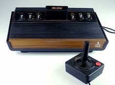 ATARI I did not have one of these either but my cousins did and I sure did love to play PAC MAN!