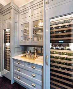 Kitchen Pantry ~ my color, my hardware. YES Kitchen Pantry ~my color, my hardware. YES - Own Kitchen Pantry Kitchen Pantry, Kitchen And Bath, New Kitchen, Kitchen Decor, Kitchen Cabinets, Kitchen Wine Racks, Adair Kitchen, Pantry Room, White Cabinets