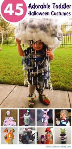 45 Adorable Toddler Halloween Costume Ideas *I'm in love with Tornado, Sharknado, Miss Piggy, & Piñata.*