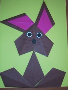 Easter bunny, always nice! – Pokemon – Easter bunny, always nice! Craft Projects For Kids, Easter Crafts For Kids, Crafts To Do, Diy For Kids, Paper Crafts, Halloween Crafts, Holiday Crafts, Diy Ostern, Useful Origami