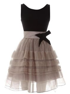 Elegant Pompon  Dress with Bow$59, 24%OFF now! Enjoy 25%OFF for the coming Mother's Day! http://www.udobuy.com/article.php?id=44