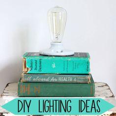 DIY lighting ideas