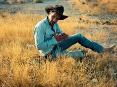 How to Dress Like a Cowboy Jeans - Louis Vuitton  Hat - Akubra Belet - Paul Smith