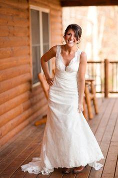 Fall Farm Wedding by Katelyn James Photography « Southern Weddings Magazine