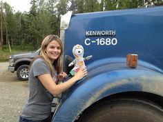 Trucks And Girls, Big Trucks, Lisa Kelly Trucker, Ice, Ice Cream, Big Rig Trucks, Ice Cream Desserts