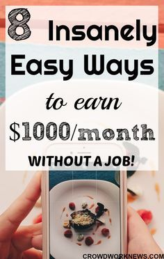It is not hard to make money online if you find the legitimate options and the right way to do it. If you are a stay at home mom or a student looking for ways to work from home, this is how you can make around $1000 a month online. Click through to get started right now! #workfromhome #extraincome