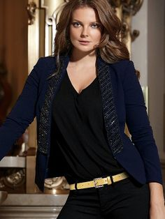 Beaded-lapel Jacket #VictoriasSecret http://www.victoriassecret.com/clothing/all-coats-and-jackets/beaded-lapel-jacket?ProductID=82339=OLS?cm_mmc=pinterest-_-product-_-x-_-x
