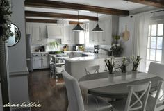 Dear Lillie: Our January Kitchen and Family Room