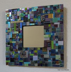 Mosaic Mirror. $95.00, via Etsy.