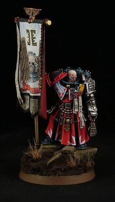 Warhammer 40k Figures, Warhammer Paint, Warhammer Models, Warhammer 40k Miniatures, Warhammer 40000, Miniaturas Warhammer 40k, Orks 40k, Dark Brotherhood, Deathwatch