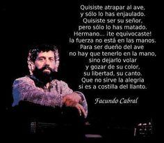 #Facundo #Cabral  #libertad